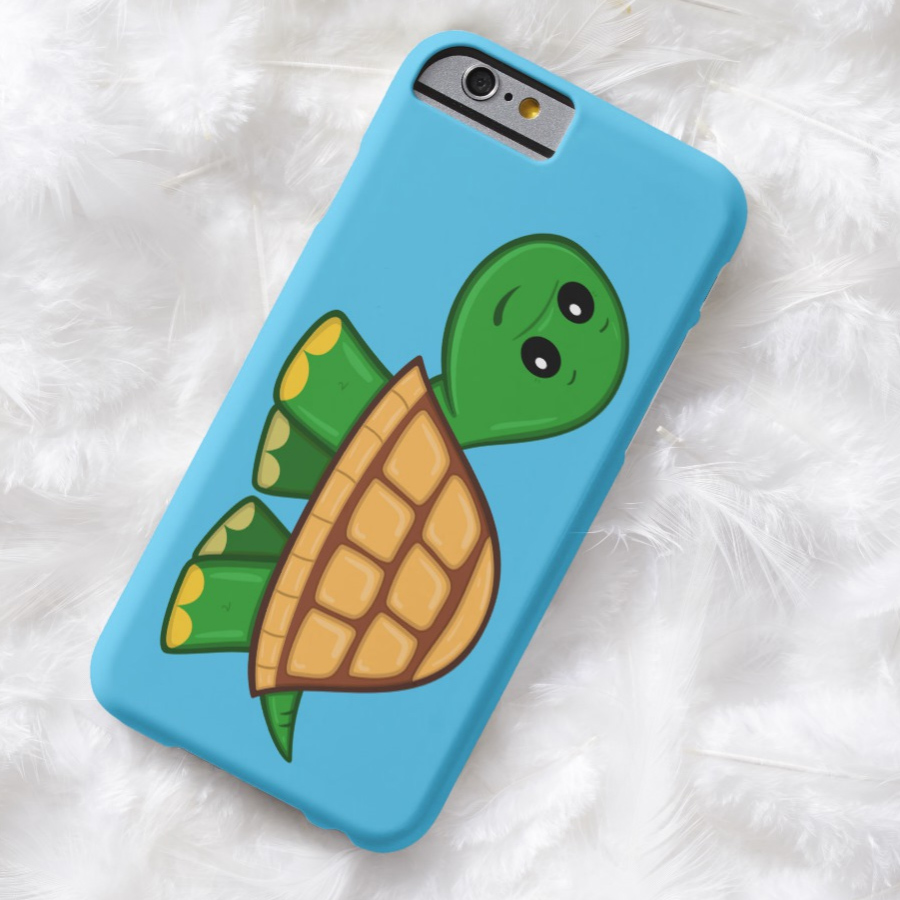 Cute Cartoon Turtle iPhone 7 Case